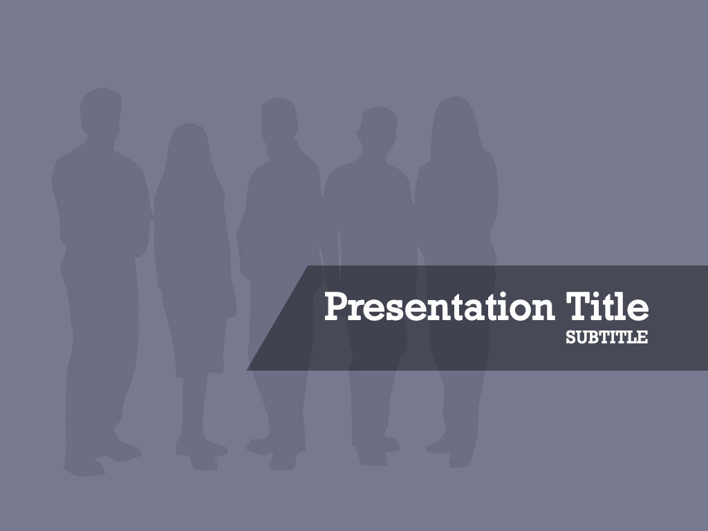 free-gray-silhouette-of-business-group-PPT-template