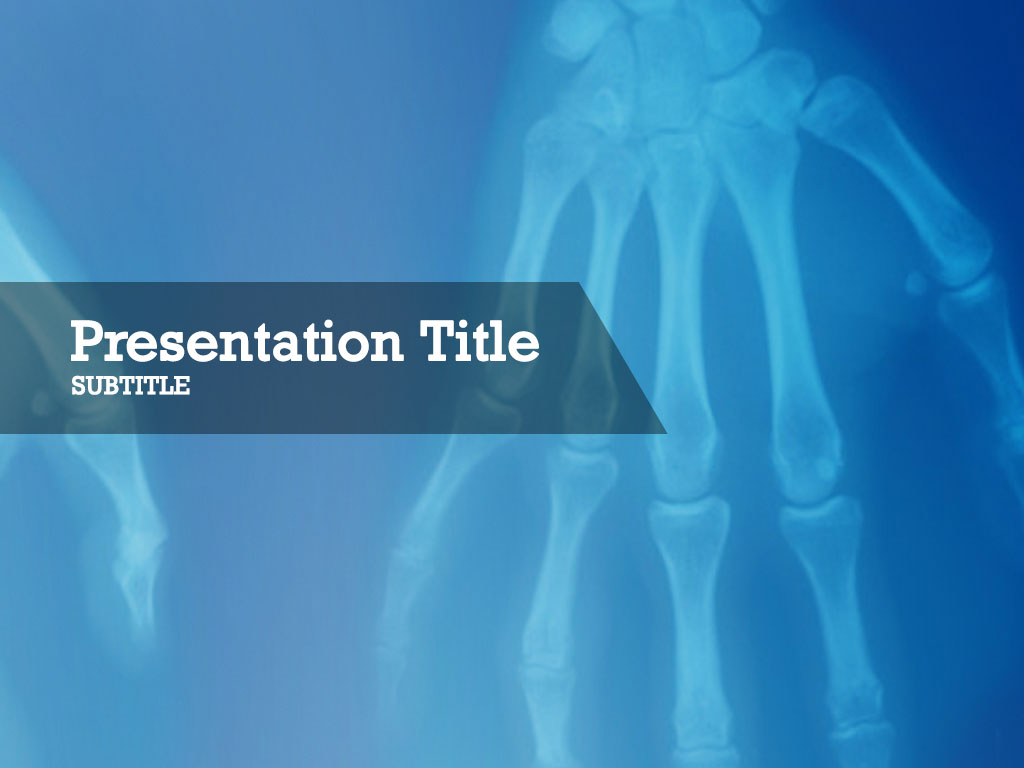 free-hands-x-ray-PPT-template