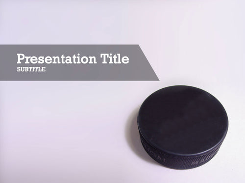 free-hockey-puck-PPT-template