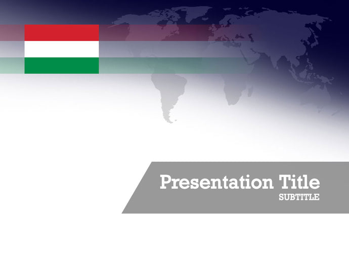 free-hungary-flag-PPT-template