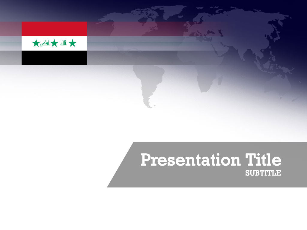 free-iraq-flag-PPT-template