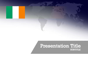 free-ireland-flag-PPT-template