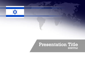 free-israel-flag-PPT-template
