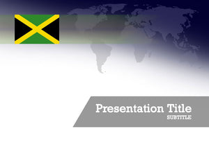 free-jamaica-flag-PPT-template