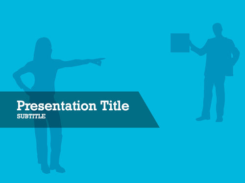 free-man-and-business-woman-silhouette-PPT-template