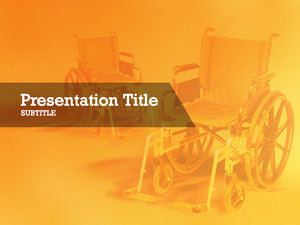 free-medical-wheel-chairs-PPT-template