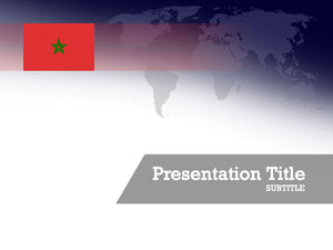 free-morocco-flag-PPT-template