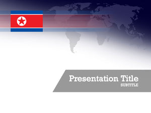 free-north-korea-flag-PPT-template