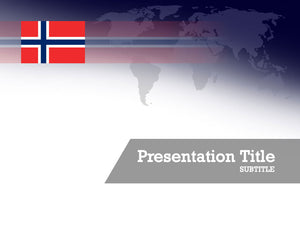 free-norway-flag-PPT-template