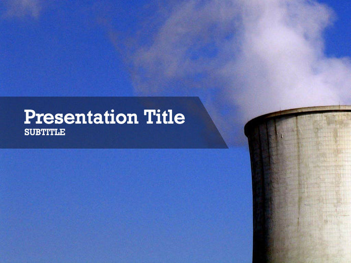 free-nuclear-cooling-tower-PPT-template