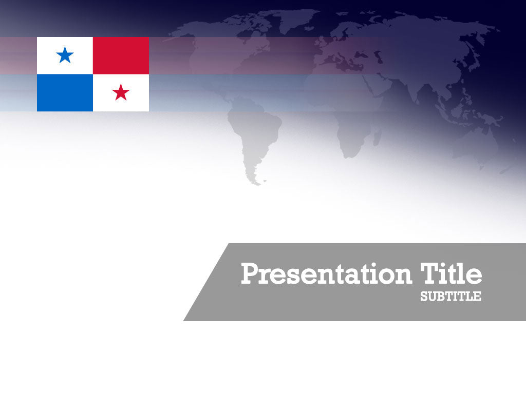 free-panama-flag-PPT-template