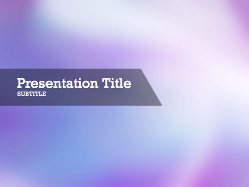 free-pink-light-PPT-template