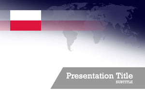 free-poland-flag-PPT-template