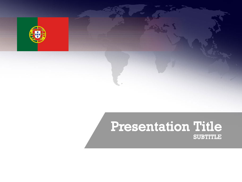 free-portugal-flag-PPT-template