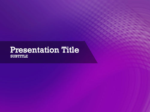 free-purple-drop-PPT-template