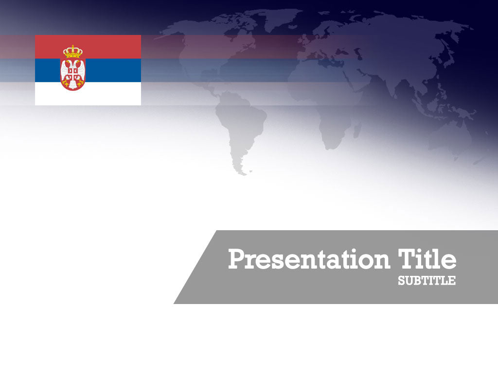 free-serbia-flag-PPT-template