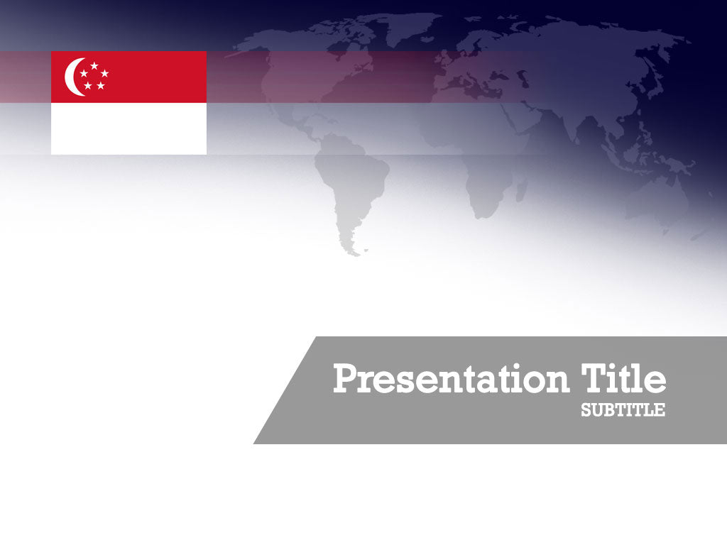 free-singapore-flag-PPT-template