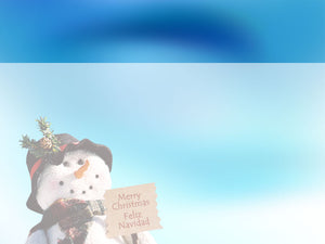 free-snowman-powerpoint-background