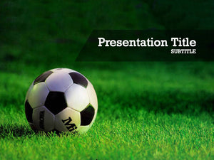 free-soccer-ball-PPT-template