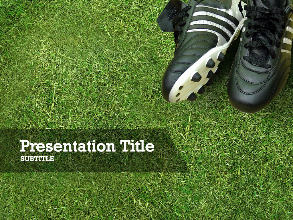free-soccer-cleats-PPT-template