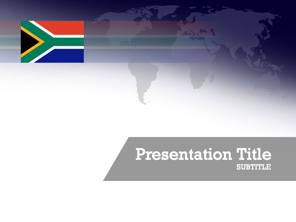 free-south-africa-flag-PPT-template