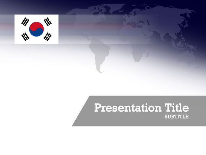 free-south-korea-flag-PPT-template