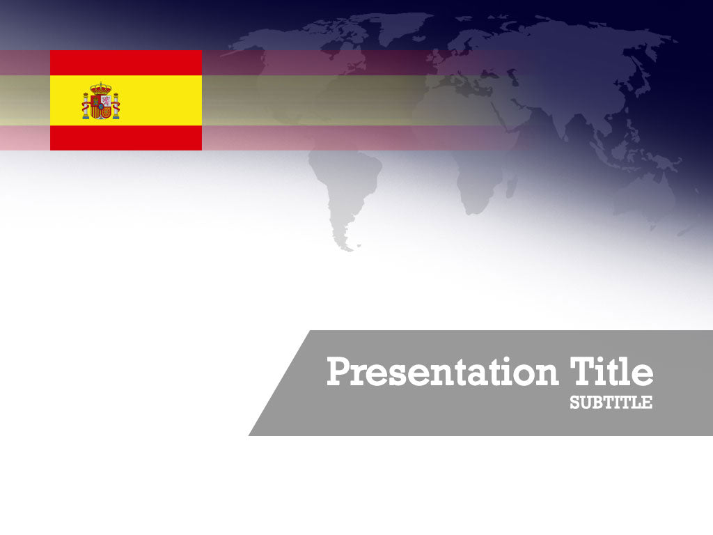 free-spain-flag-PPT-template
