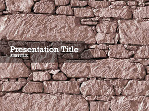 free-stone-wall-PPT-template