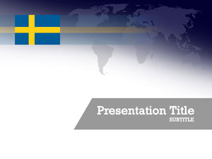 free-sweden-flag-PPT-template