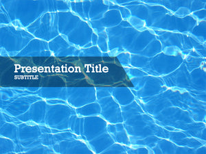 free-swimming-pool-PPT-template