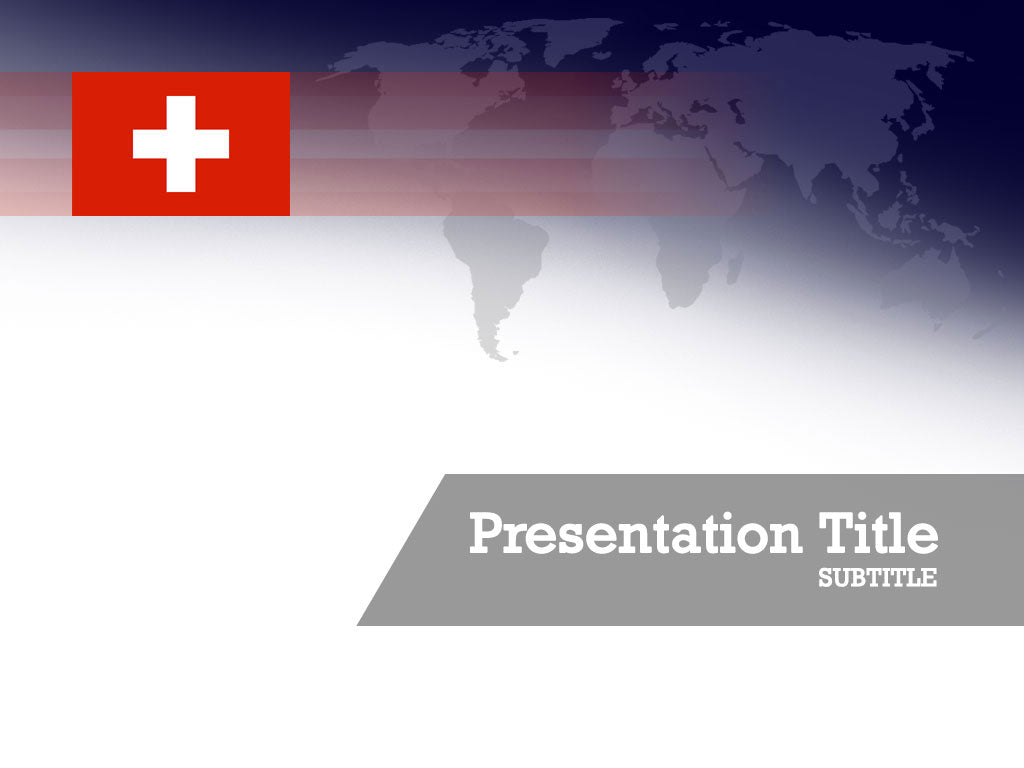free-switzerland-flag-PPT-template