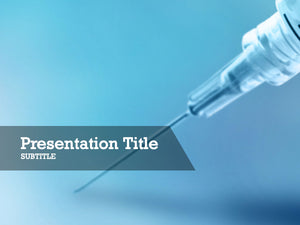free-syringe-needle-PPT-template