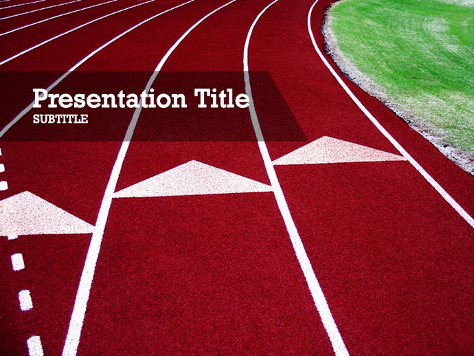 free-track-and-field-PPT-template