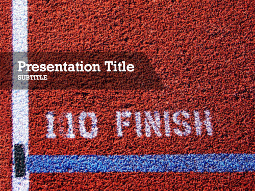 free-track-finish-line-PPT-template