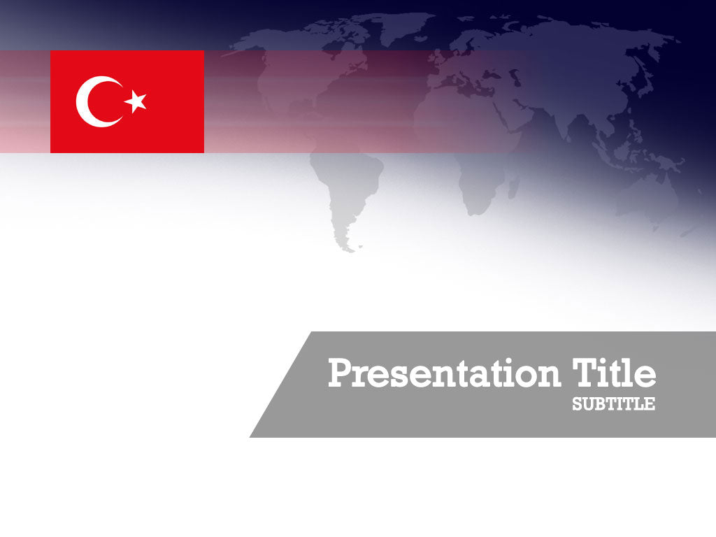 free-turkey-flag-PPT-template