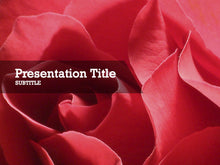 Load image into Gallery viewer, free-valentines-flowers-PPT-template