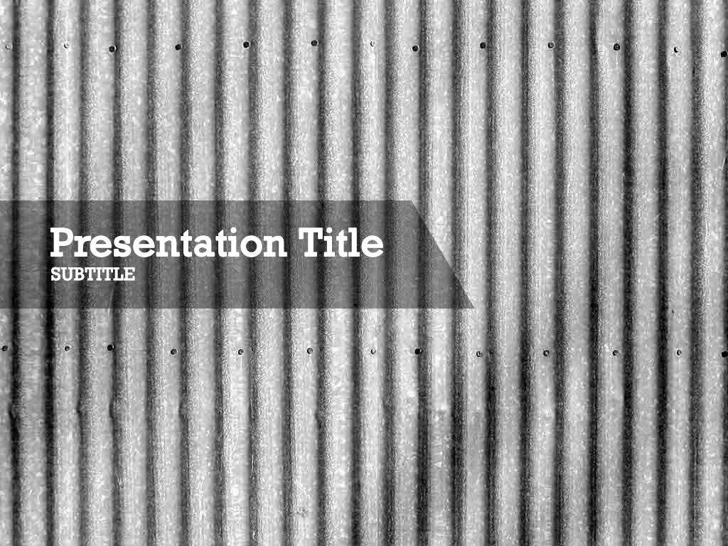 free-wave-sheet-metal-PPT-template