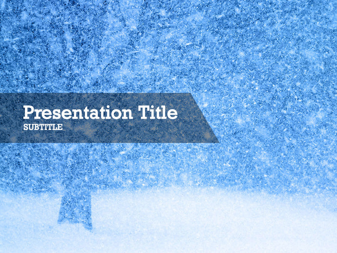 free-winter-PPT-template