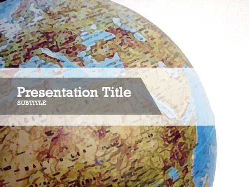 free-world-globe-PPT-template
