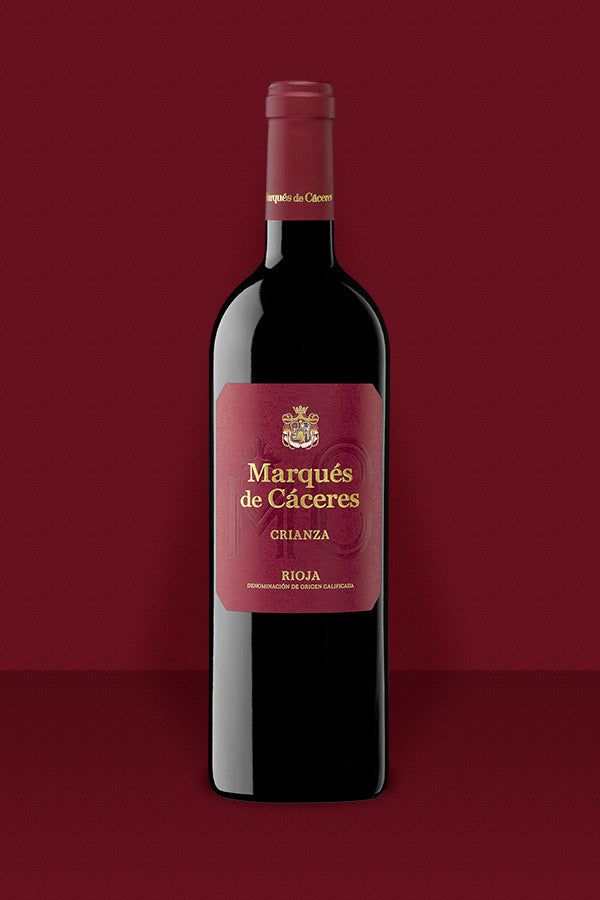 Vino Tinto DO Rioja Marques de Caceres 75 CL.