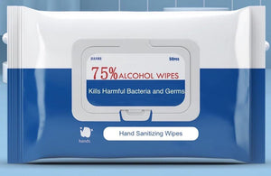 Alcohol Disinfectant Wipes (50 Wipes)