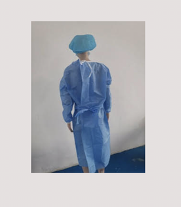 Disposable Isolation Gown, AAMI Level 3 (sold individually)