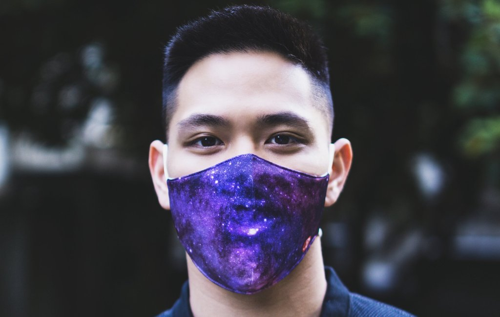 Rhino Reusable Face Mask - Constellations