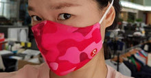 Load image into Gallery viewer, Rhino Reusable Cloth Fashion Face Mask - Pink Camo