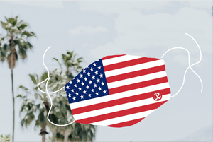 Rhino Reusable Face Mask - USA Flag