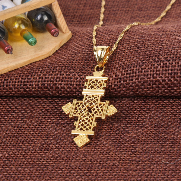 Lalibela Cross Necklace - Fnote Loza
