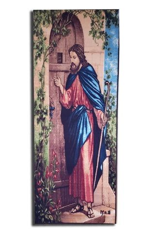 Christ Knocking on a Door - Fnote Loza