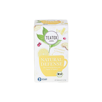 Natural Defense filteres tea