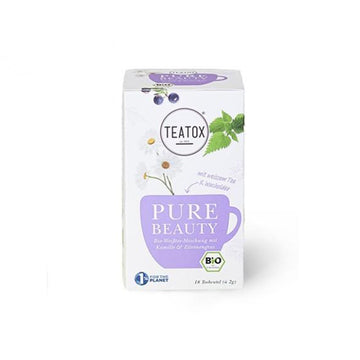 Pure Beauty filteres tea