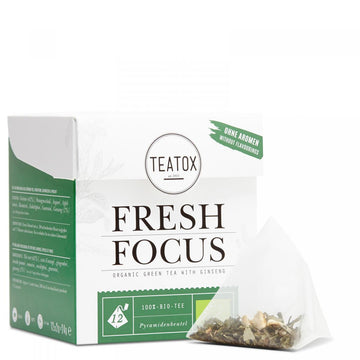 Fresh Focus tea 24g, filteres